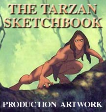 The Tarzan Sketchbook