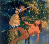Tarzan and Jane in the Trees